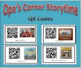 QR Codes for Opa's Corner Storytime stories - Family