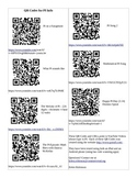 QR Codes for PI Info