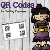 QR Codes for Reading Responses: Freebie, Story Elements, Questioning