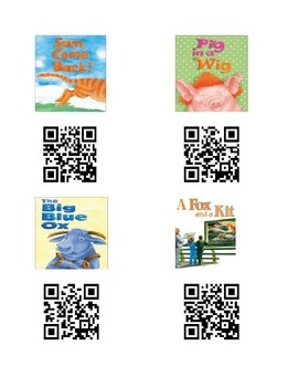 QR Codes for Reading Street Unit 1
