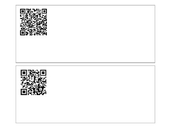 QR Codes for Sight Words