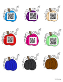 QR Codes for Sight Words: Fall Edition: Differentiated Rec