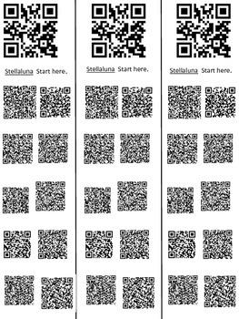 QR Codes for Stellaluna