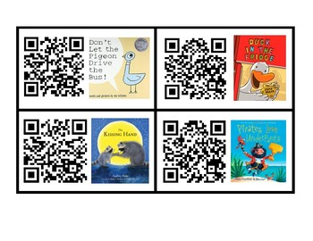 QR Codes for Story Read Alouds