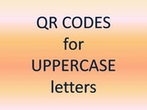 QR Codes for Uppercase Letters