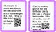 QR Codes for all operations of Decimals add subtract multiply divide