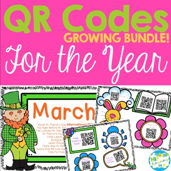 QR Codes for the Year GROWING BUNDLE