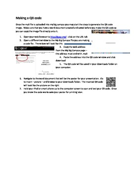 QR Codes, iTunes and My Big Campus
