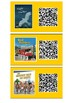 QR Codes links to audio for Turquoise Ready to Read Books