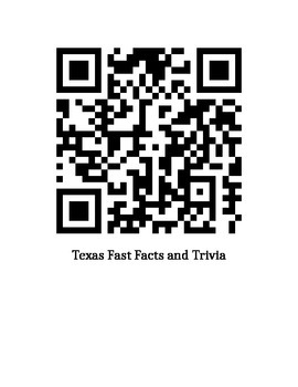 QR Codes to Research the State of Texas