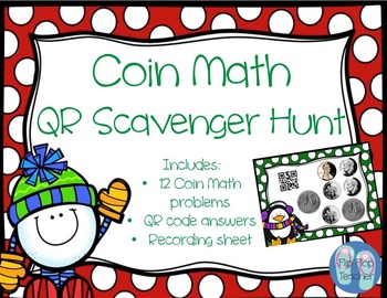 QR Scoot Coin Math Scavenger Hunt
