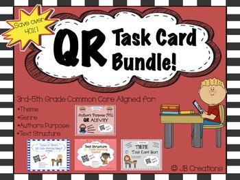 QR Common Core Activity Bundle! (3rd, 4th, & 5th grades)