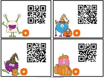 QR Critters: 2 & 3-Digit Addition {Halloween}