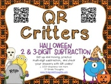 QR Critters: 2 & 3-Digit Subtraction {Halloween}