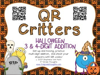 QR Critters BUNDLE {Halloween}