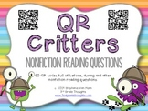 QR Critters: Nonfiction Reading Questions