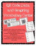 QR Data and Graphing Vocabulary Center