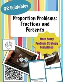 QR Foldables | Gr 5 Mathematics | Proportion Story Problems