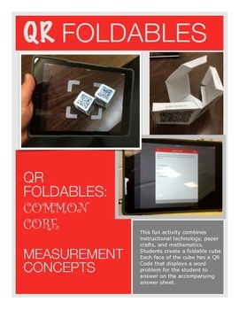 QR Foldables | Grade 5 Math | Measurement & Unit Conversions