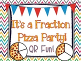 QR Fraction Pizza Party