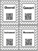 QR Hunt: 2nd Grade Reading Wonders Vocabulary Unit 3 Week 5
