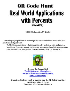 QR Hunt: Percent Applications