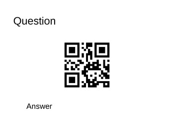 QR Matching Game Template