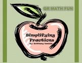 QR Math Fun: Simplifying Fractions