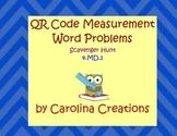 QR Measurement Scavenger Hunt - Fourth Grade Common Core 4