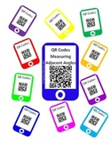QR Measuring Adjacent Angles Task Cards - Scoot Activity