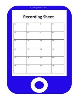QR Measuring Adjacent Angles Task Cards - Scoot Activity