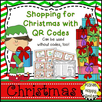 Christmas Activity ~ Christmas Shopping: QR Money Matching