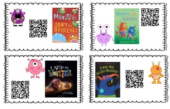 QR Monster Read Alouds
