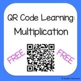FREE QR Codes Multiplication Worksheet
