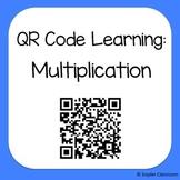 QR Code Multiplication Worksheets