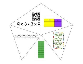 QR Multiplication Puzzles x3