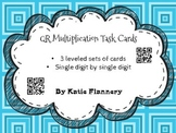 QR Multiplication Task Cards