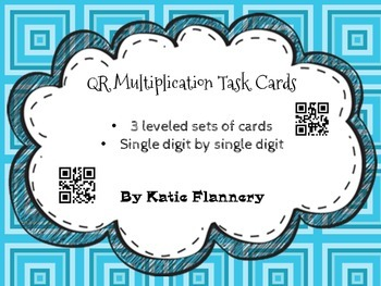 QR Multiplication Task Cards