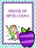 QR Order of Operations