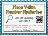 QR Place Value Number Mysteries
