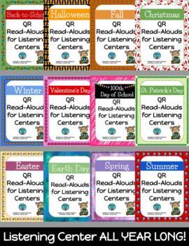QR Read-Alouds (Listening Centers) **BUNDLE**
