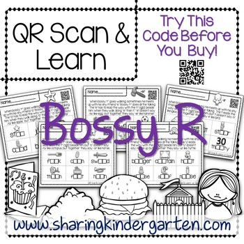 QR Scan & Learn~ Bossy R