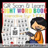 QR Scan & Learn~ Interactive Sight Word Book {FRY 1-100}