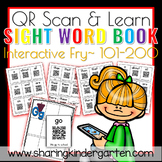 QR Scan & Learn~ Interactive Sight Word Book {FRY 101-200}