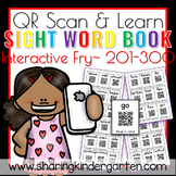 QR Scan & Learn~ Interactive Sight Word Book {FRY 201-300}
