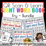 QR Scan & Learn~ Interactive Sight Word Book {Fry Bundle}