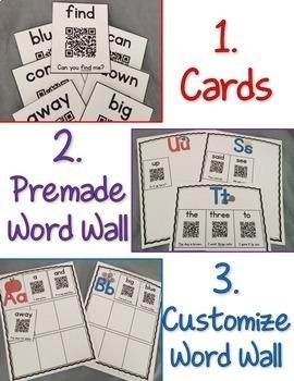 QR Scan & Learn~ Interactive Sight Word Book {PrePrimer}