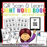 QR Scan & Learn~ Interactive Sight Word Book {SECOND GRADE}
