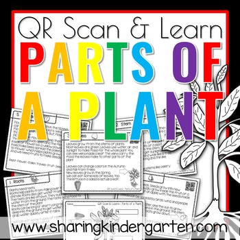 QR Scan & Learn~ Parts of a Plant