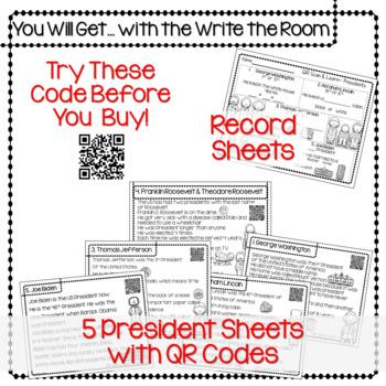 QR Scan & Learn~ Presidents